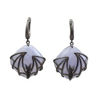 Bellus Domina Bat Earrings