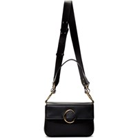 Chloe Black Small 'Chloe C' Double Carry Bag
