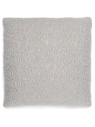 L'objet X Haas Brothers Vermiculation Mohair Blend Cushion Grey