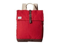 Toms Trekker Waxed Canvas Backpack Chili Backpack Bags Brown