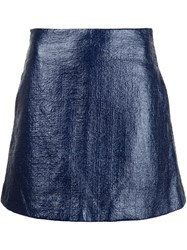 Creatures Of The Wind 'Sage' Mini Skirt Blue
