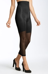 Spanx 'In Power Line' High Waisted Footless Shaper Black