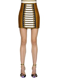 Dsquared Silk And Cotton Twill Skirt