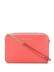 Michael Kors Collection Jet Set Travel Crossbody Bag Pink
