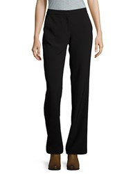 Karl Lagerfeld Straight Leg Dress Pants Black