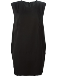 Blk Dnm Sleeveless Shift Dress