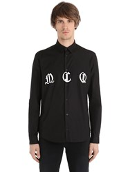 Mcq By Alexander Mcqueen Printed Cotton Poplin Shirt