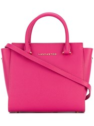 Lancaster Adeline Tote Women Leather One Size Pink Purple