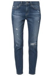 Ag Adriano Goldschmied Beau Relaxed Fit Jeans Blue