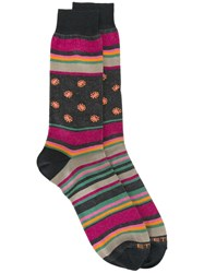 Etro Striped Socks