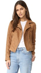 Bb Dakota Jack By Calipatria Moto Jacket Camel