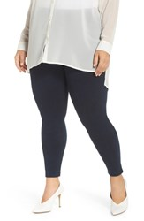 Lysse Plus Size Stretch Denim Leggings