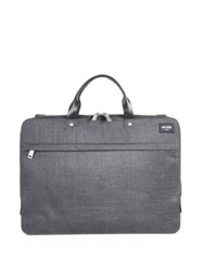 Jack Spade Solid Briefcase Charcoal