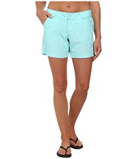 Columbia Coral Point Ii Short Candy Mint Women's Shorts Blue