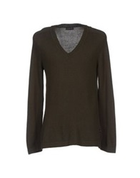 Brooksfield Sweaters Dark Green