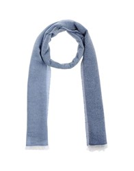 Eleventy Accessories Oblong Scarves Women Sky Blue