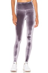 Beyond Yoga Velvet Motion High Waisted Midi Legging Purple