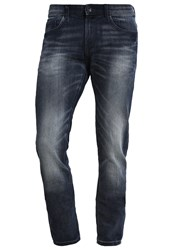 Tom Tailor Denim Piers Slim Fit Jeans Blue Denim Dark Wash Dark Blue Denim