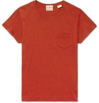 Levi's Vintage Clothing Slim Fit Cotton Jersey T Shirt Red