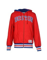 Franklin And Marshall Jackets Red