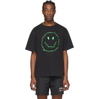Misbhv Black A Smiley Logo T Shirt