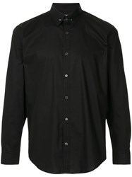 Cerruti 1881 Brooch Plain Shirt Black