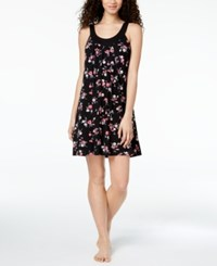 Alfani Printed Pleated Chemise Created For Macy's Summer Bouquet