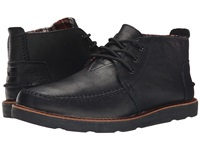 Toms Chukka Boot Black Full Grain Leather Men's Lace Up Boots
