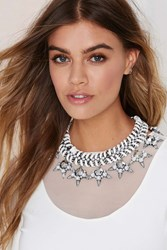 Nasty Gal Cocoa Jewelry Jenna Collar Necklace