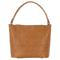 Oasis Honour Two Pocket Zip Hobo Bag Tan