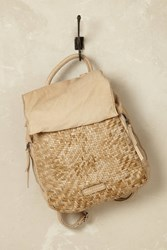 Anthropologie Darryl Leather Rucksack Nude Chair Nude Chair