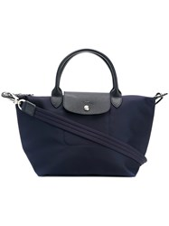 Longchamp Le Pliage Tote Blue