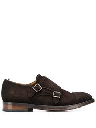 Officine Creative Emory Monk Shoes Brown