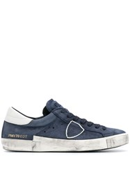 Philippe Model Lace Up Sneakers Blue