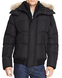 Marc New York Rockport Hooded Down Parka Jet Black