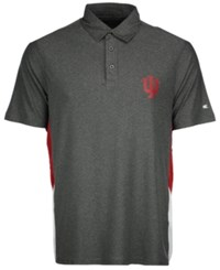 Colosseum Men's Indiana Hoosiers The Bro Polo Charcoal