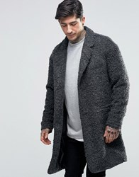 Another Influence Overcoat Jacket Grey