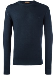 Etro Crew Neck Sweater Grey