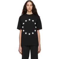 Etudes Studio Black Europa Wonder T Shirt