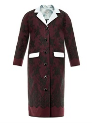 Erdem Rica Lace Evening Coat