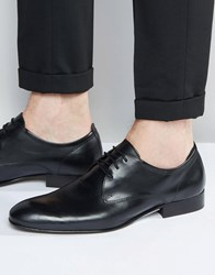 Base London Business Leather Oxford Shoes Black