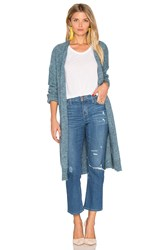 Hoss Intropia Long Cardigan Blue