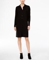 Eileen Fisher Shirtdress A Macy's Exclusive Black