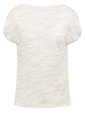Kiomi Basic Tshirt Light Grey Melange Mottled Light Grey