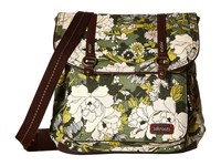 Sakroots Artist Circle Convertible Backpack Olive Flower Power Backpack Bags Brown