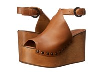 Matisse Tiegs Cognac Women's Wedge Shoes Tan