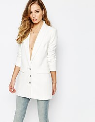Supertrash Jomen Sharp Boyfriend Blazer White