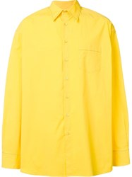 Raf Simons Chest Pocket Shirt White