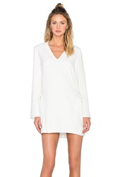 Finders Keepers Fly Away Dress White