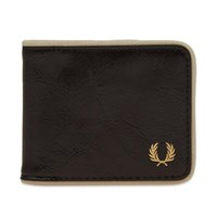 Fred Perry Classic Billfold Wallet Black